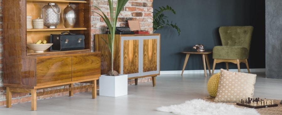 Muebles antiguos a precio moderno