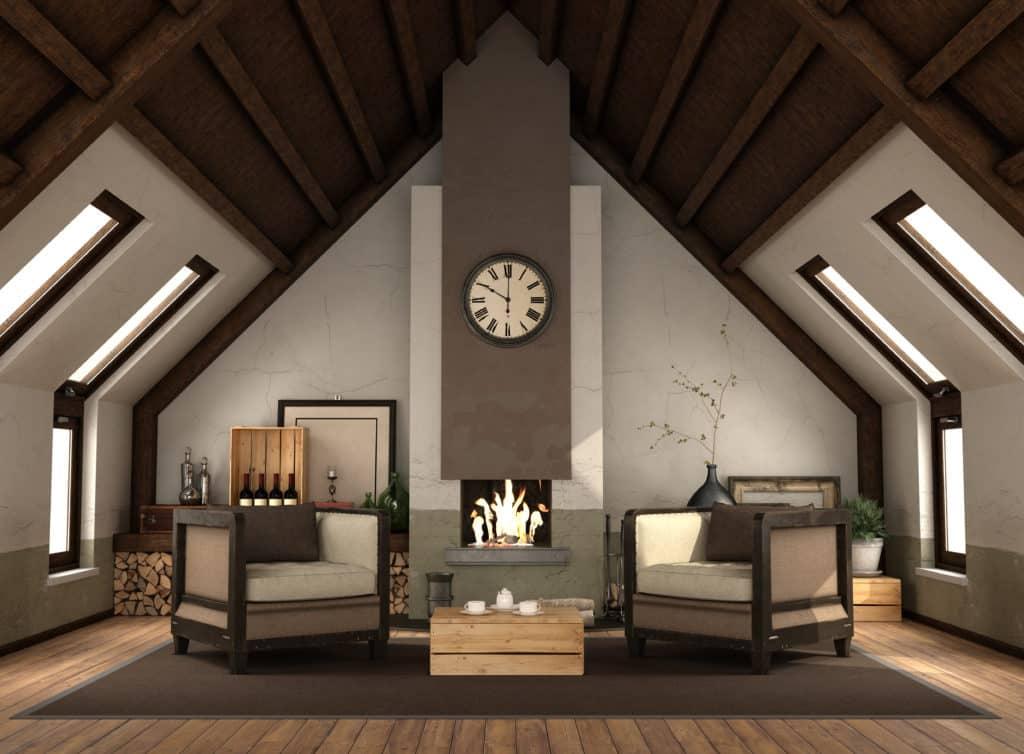 estilo decoración muebles madera