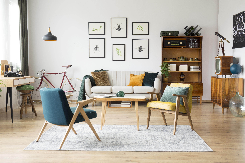 muebles ebano madera salón