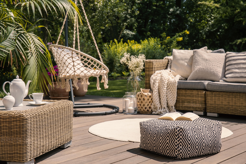 mobiliario de jardin exterior