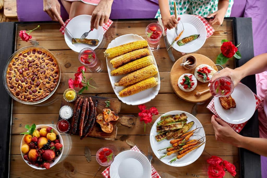 mesa comedor cena